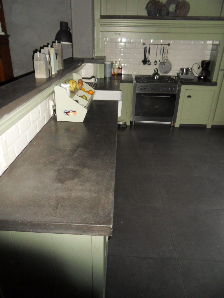Landelijke keuken beton