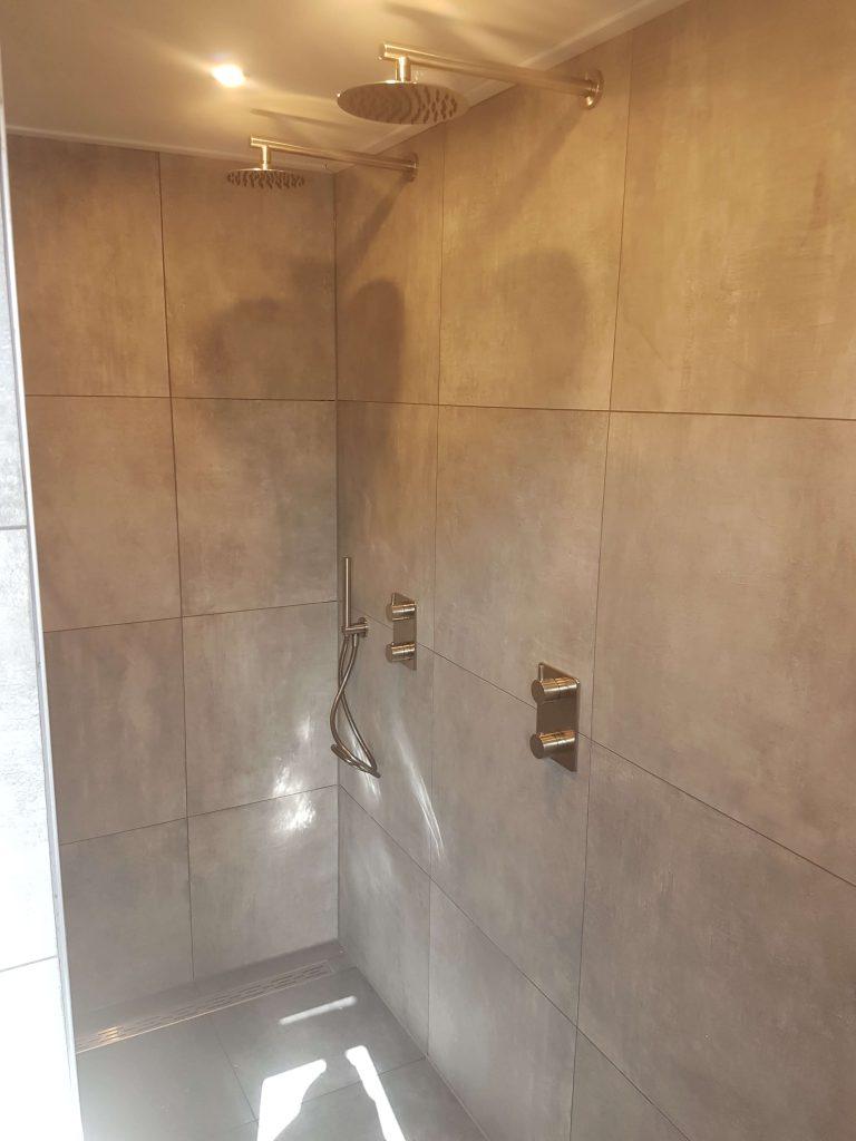 badkamer renovatie inbouwkraan