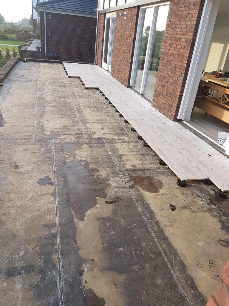 keramische tegels terras
