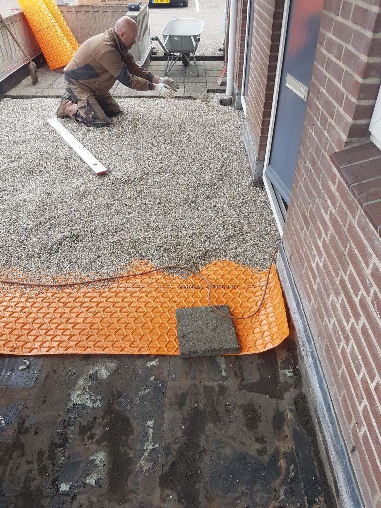 lagen opbouw dakterras