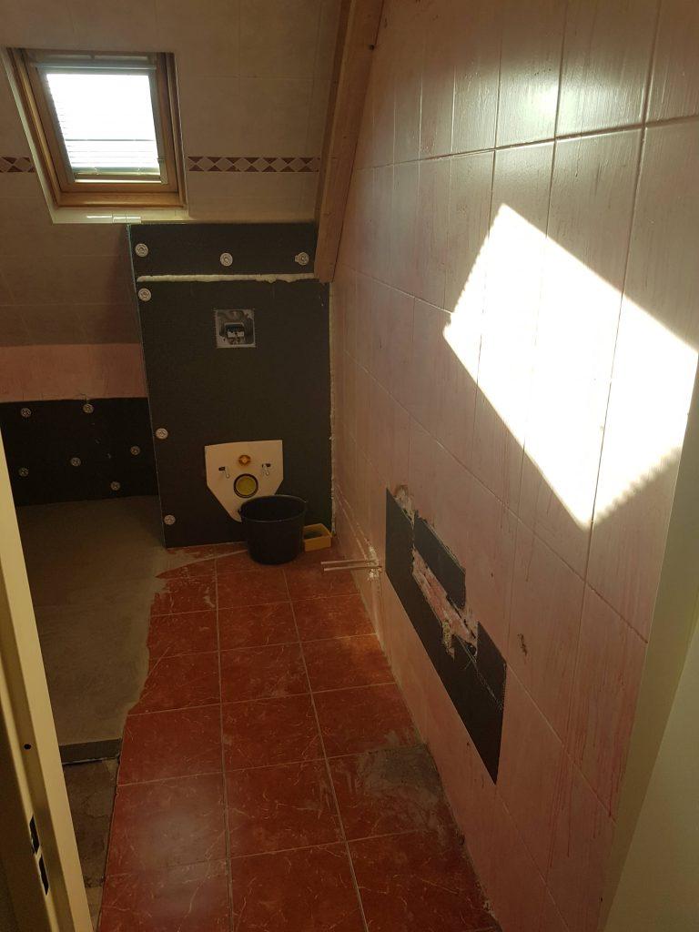 Inbouwreservoir toilet